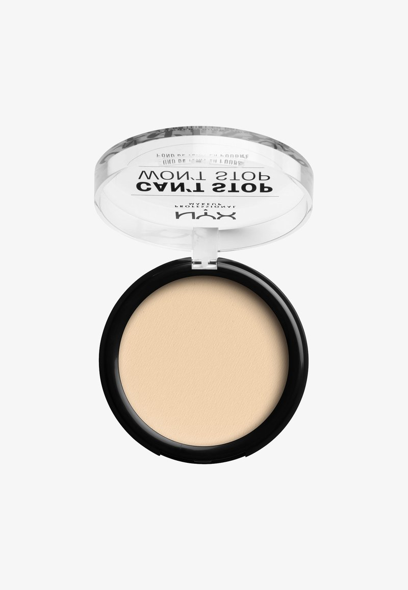 Nyx Professional Makeup - CAN'T STOP WON'T STOP POWDER FOUNDATION - Puder - CSWSPF01 pale