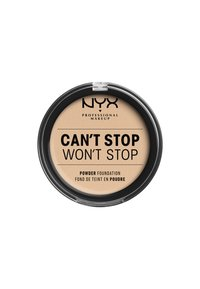 Nyx Professional Makeup - CAN'T STOP WON'T STOP POWDER FOUNDATION - Poudre - CSWSPF06 vanilla - 1