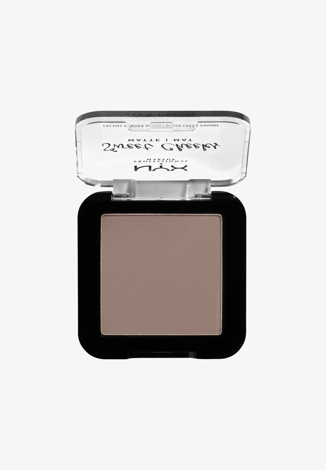 SWEET CHEEKS CREAMY POWDER BLUSH MATTE - Blusher - 09 so taupe