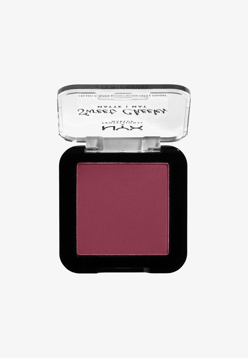 Nyx Professional Makeup - SWEET CHEEKS CREAMY POWDER BLUSH MATTE - Blush - 07 risky business