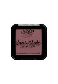 Nyx Professional Makeup - SWEET CHEEKS CREAMY POWDER BLUSH MATTE - Blush - 07 risky business - 1