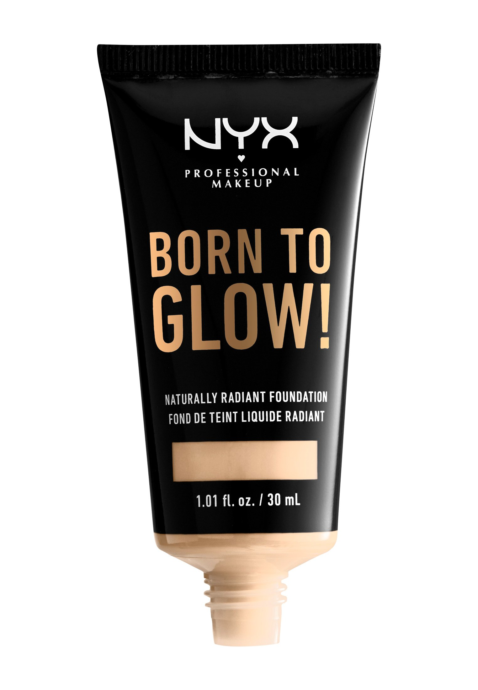 Nyx Professional Makeup BORN TO GLOW NATURALLY RADIANT FOUNDATION - Foundation - 01 pale