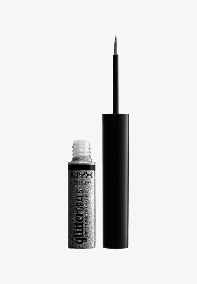 GLITTER GOALS LIQUID EYELINER - Eyeliner - 02 diamond dust