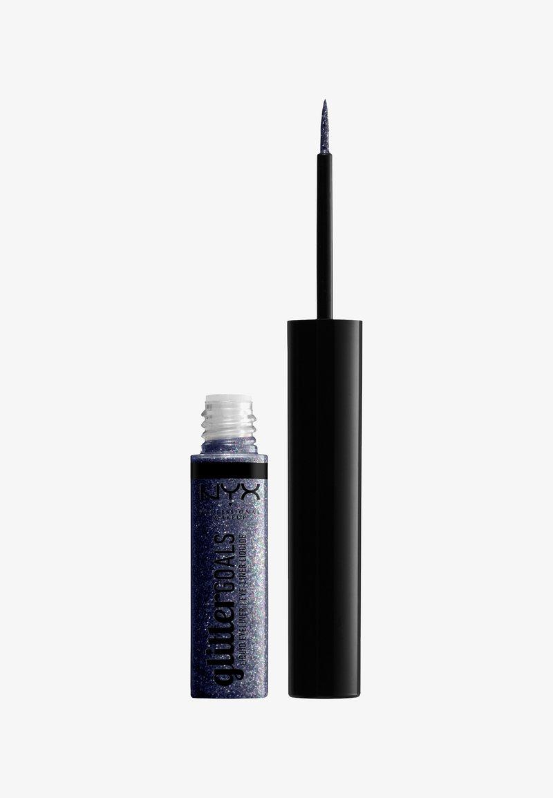 Nyx Professional Makeup - GLITTER GOALS LIQUID EYELINER - Eyeliner - 06 stage trooper