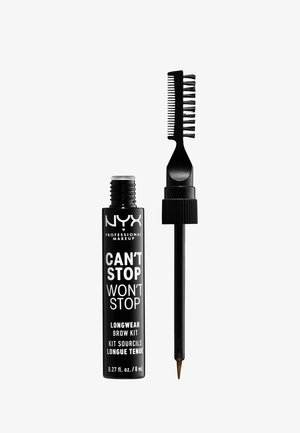 CAN'T STOP WON'T STOP LONGWEAR BROW INK KIT - Eyebrow pencil - 05 ash brown
