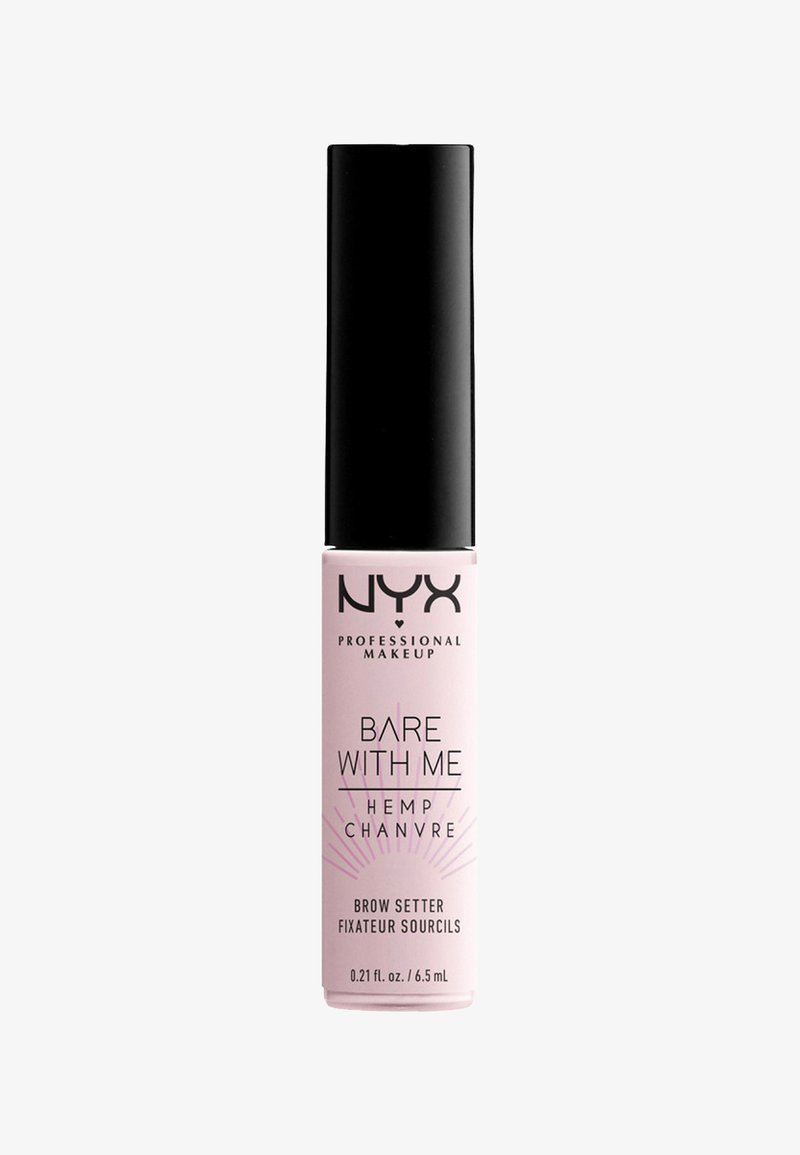 Nyx Professional Makeup - BARE WITH ME CANNABIS OIL BROW SETTER - Eye primer - 01 clear