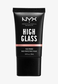 Nyx Professional Makeup - HIGH GLASS FACE PRIMER - Primer - rose quartz - 0