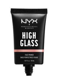 Nyx Professional Makeup - HIGH GLASS FACE PRIMER - Primer - rose quartz - 1