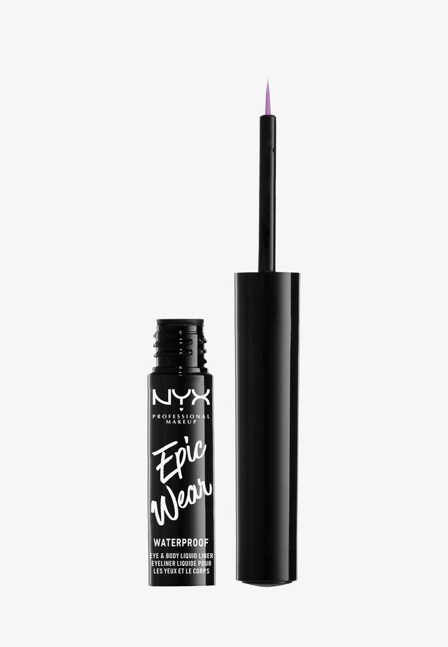 EPIC WEAR LIQUID LINER - Eyeliner - lilac