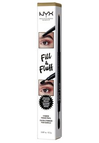 Nyx Professional Makeup - FILL&FLUFF EYEBROW POMADE PENCIL - Augenbrauenstift - blonde - 2