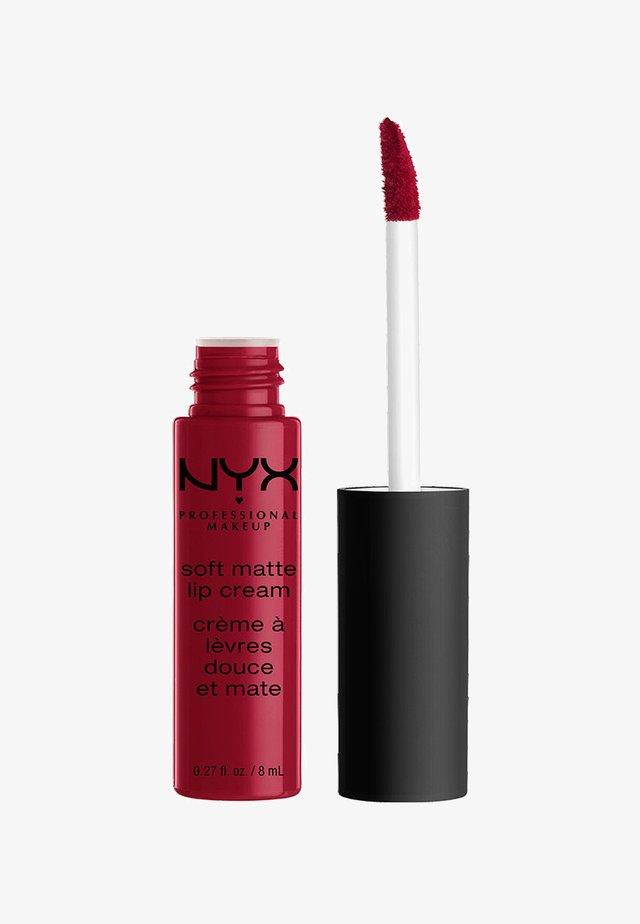 SOFT MATTE LIP CREAM - Flydende læbestift - 10 monte carlo