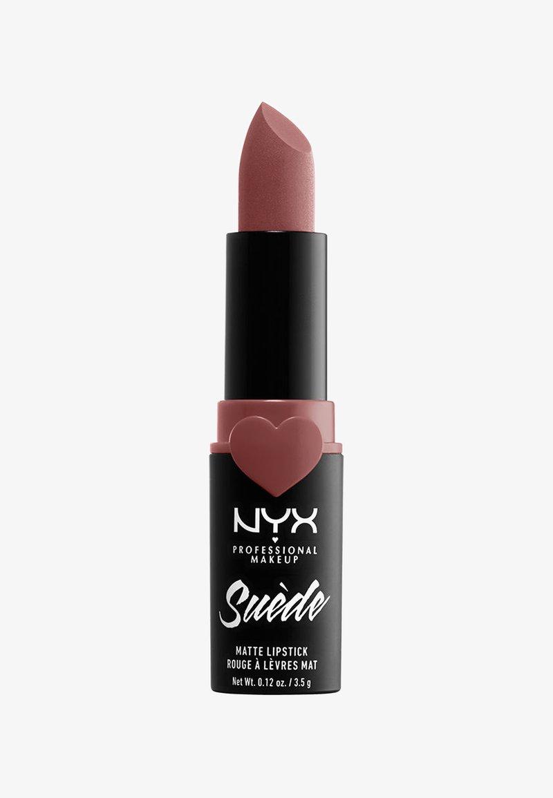 Nyx Professional Makeup - SUEDE MATTE LIPSTICK - Lippenstift - 5 brunch me