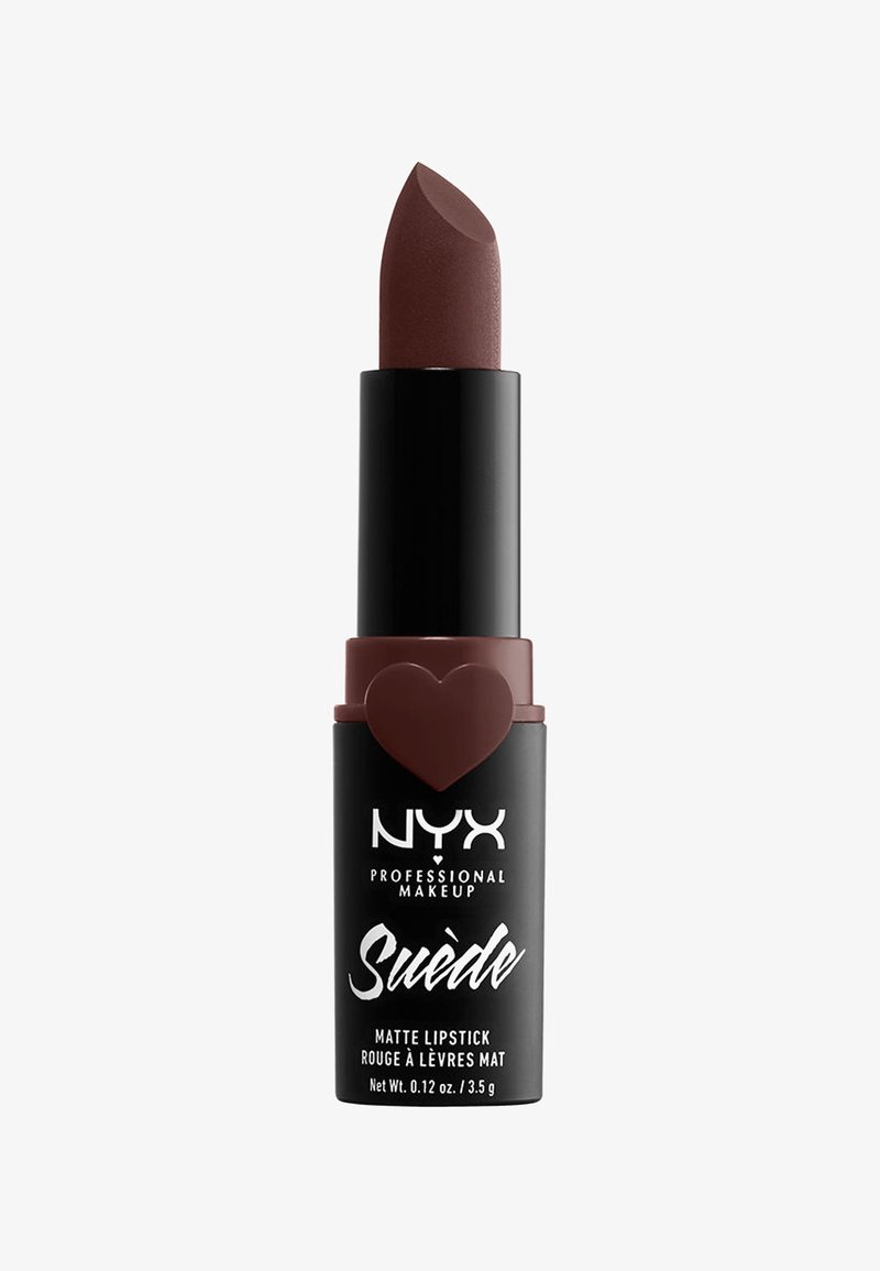 Nyx Professional Makeup - SUEDE MATTE LIPSTICK - Lippenstift - 7 cold brew