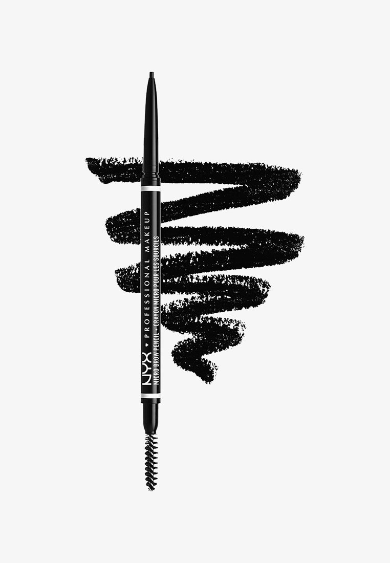 Nyx Professional Makeup - MICRO BROW PENCIL - Eyebrow pencil - 8 black