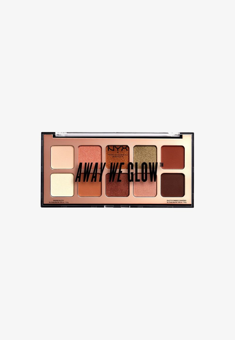 Nyx Professional Makeup - AWG SHADOW PALETTE - Ögonskuggepalett - 2 hooked on glow