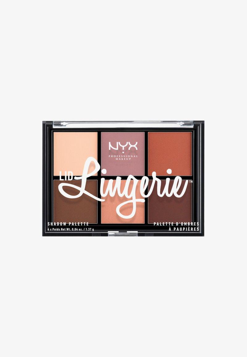 Nyx Professional Makeup - LINGERIE SHADOW PALETTE - Ögonskuggepalett - multicolored