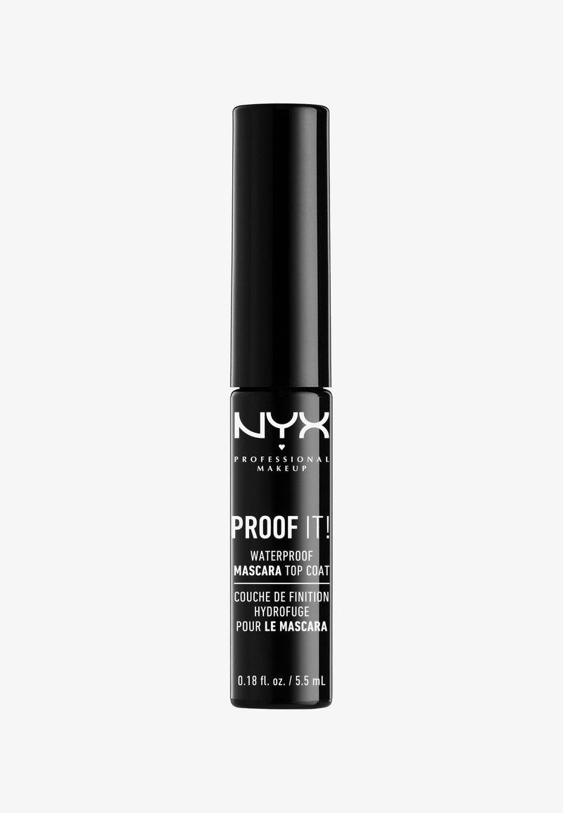Nyx Professional Makeup - WATERPROOF MASCARA TOP COAT - Mascara - -