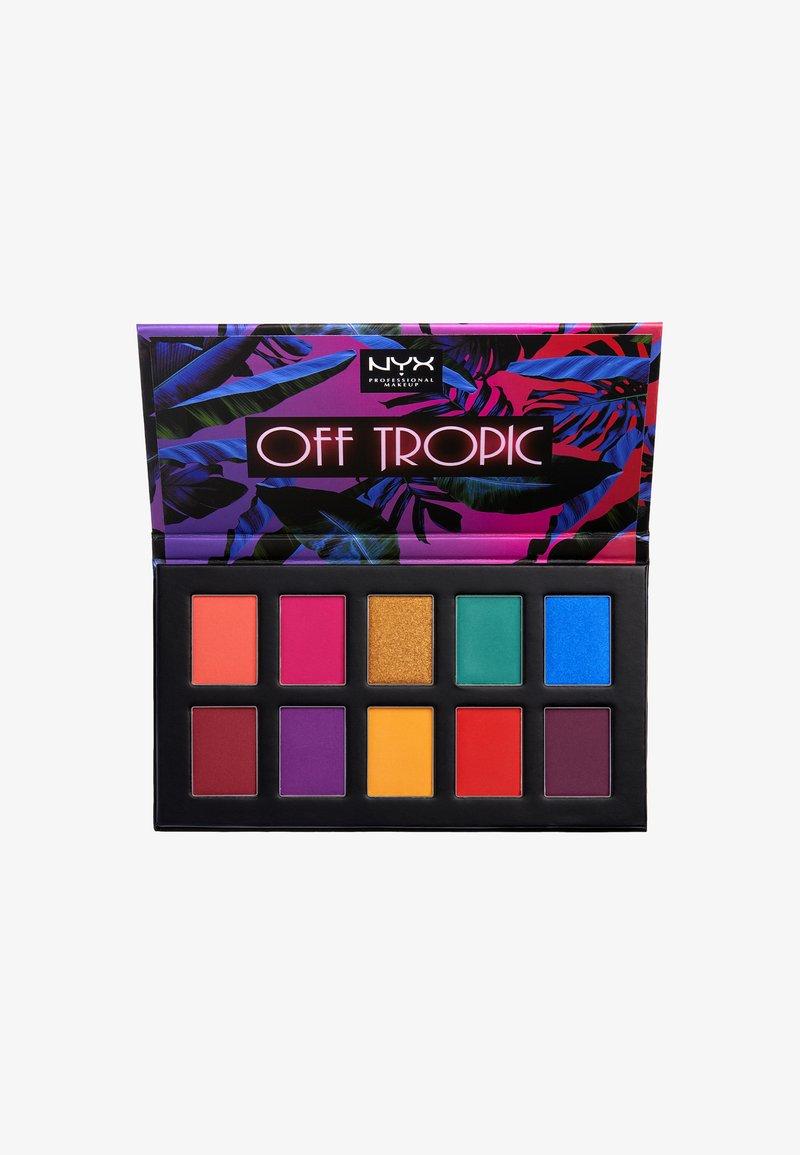 Nyx Professional Makeup - OFF TROPIC SHADOW PALETTE - Lidschattenpalette - 1 hasta la vista
