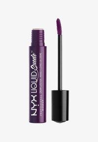Nyx Professional Makeup - LIQUID SUEDE CREME LIPSTICK - Flüssiger Lippenstift - 19 subversive socialite - 0