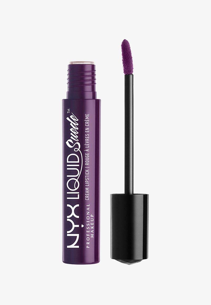 Nyx Professional Makeup - LIQUID SUEDE CREME LIPSTICK - Flüssiger Lippenstift - 19 subversive socialite