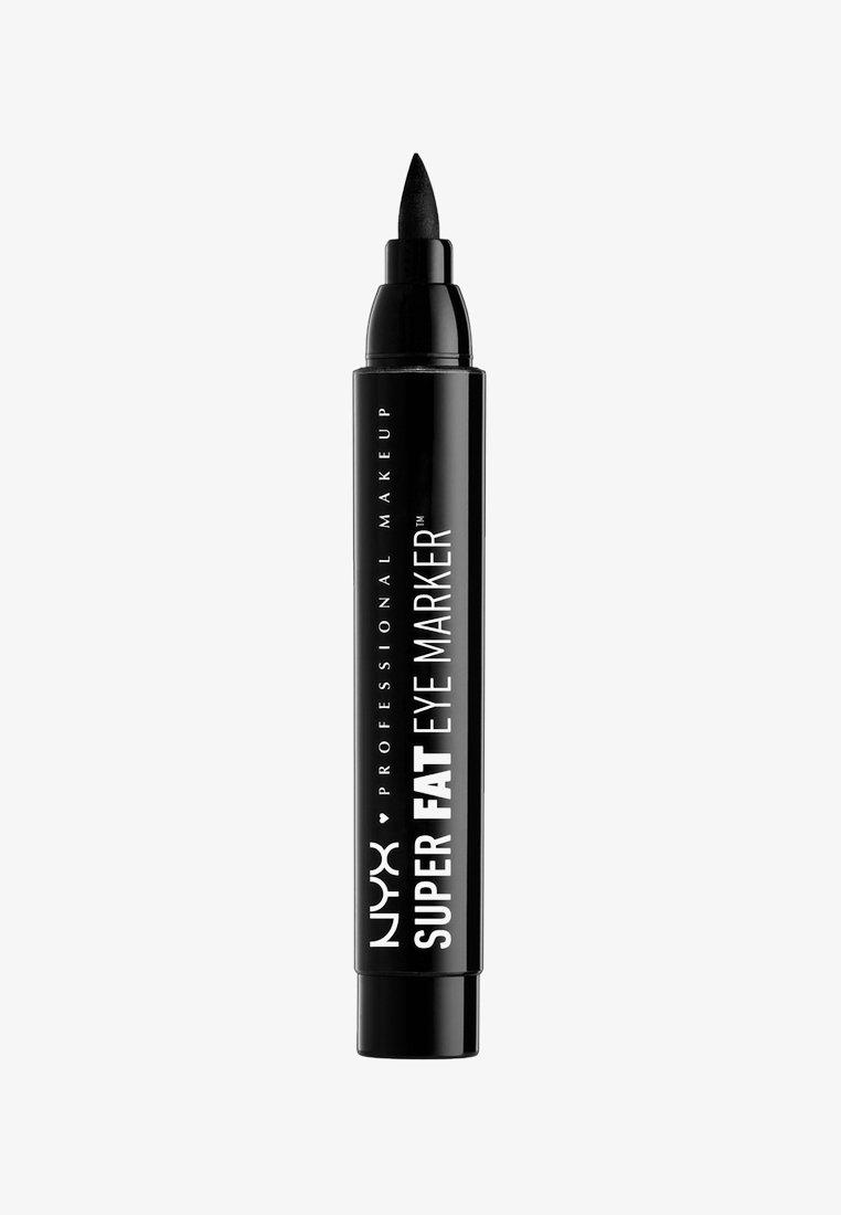 Nyx Professional Makeup - SUPER FAT EYE MARKER - Eyeliner - carbon black