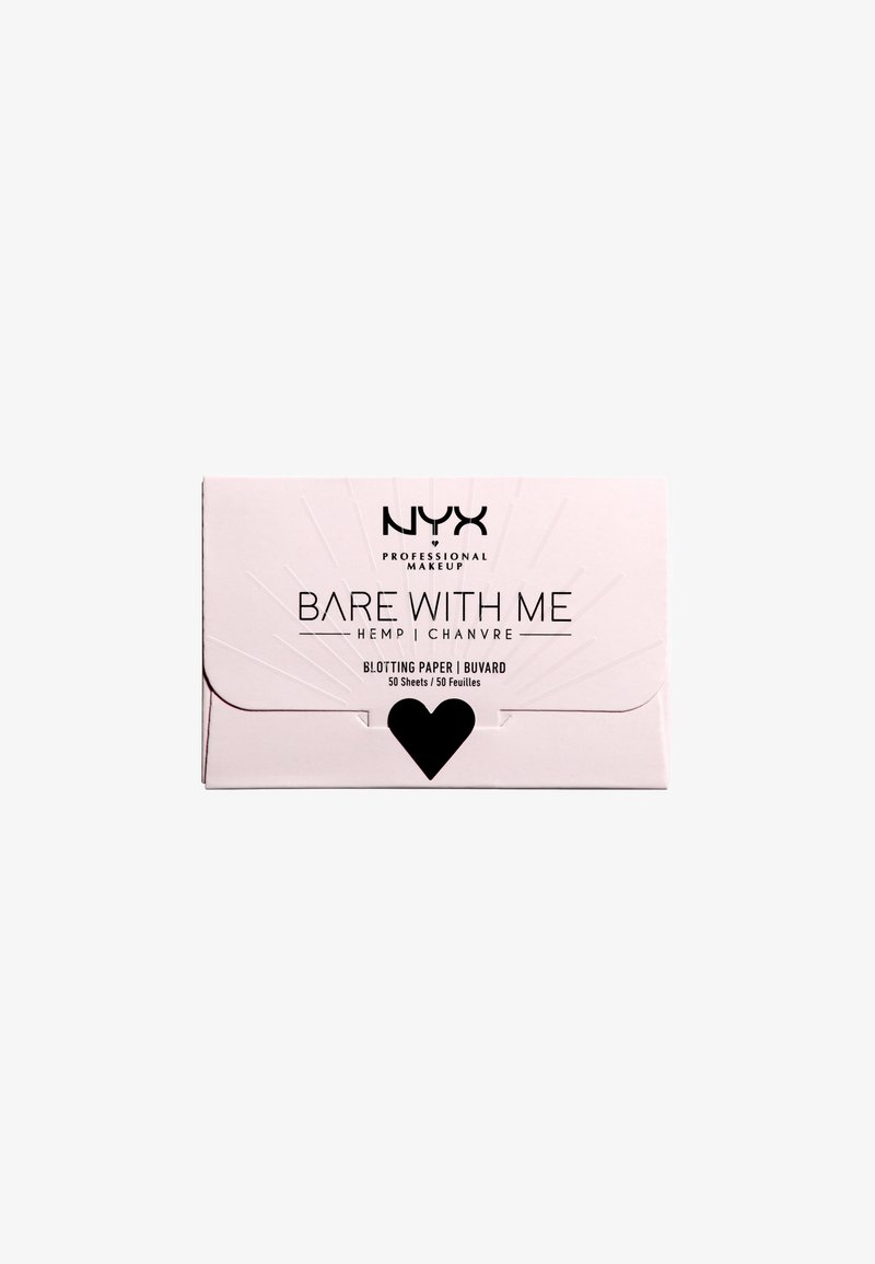 Nyx Professional Makeup - BARE WITH ME CANNABIS OIL BLOTTING PAPER - Fixerspray og -pudder - -