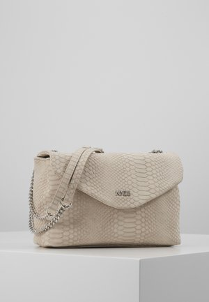 CROSSBODY BY LAURAJOELLE - Across body bag - taupe