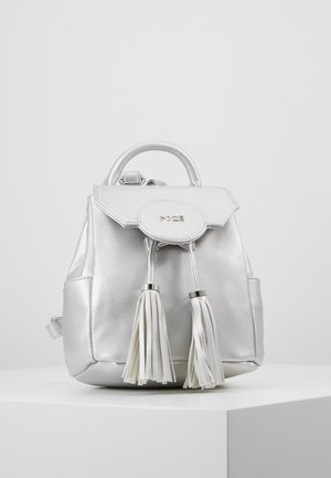 BACKPACK MINI BY THEBEAUTY2GO - Mochila - silver