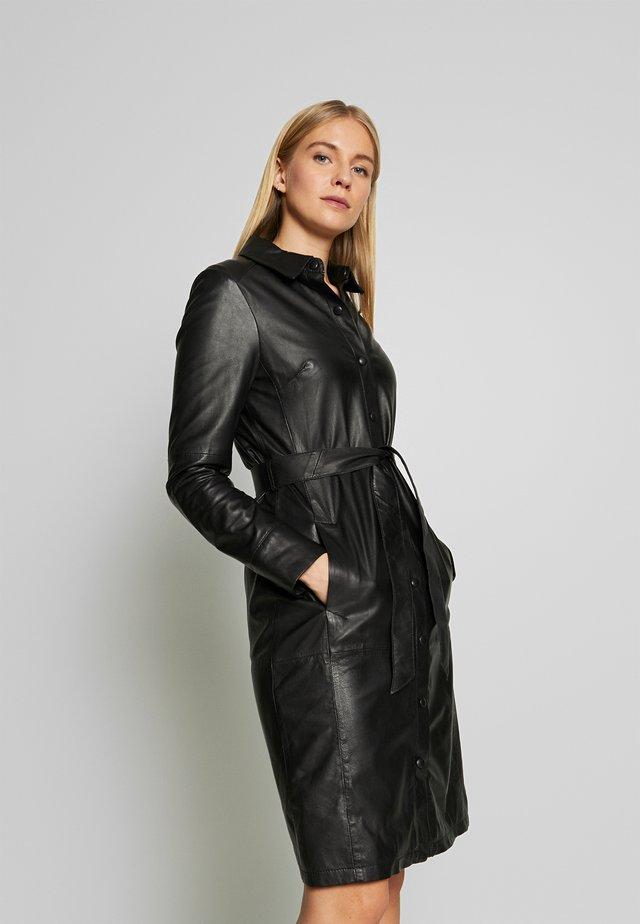 INDIANA - Shirt dress - black