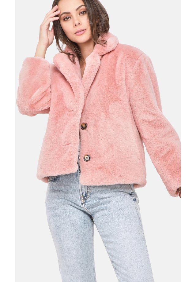 LOGIN - Winterjas - light pink