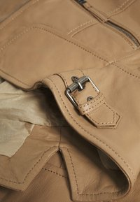 Oakwood - CAMERA - Kožená bunda - brown - 2