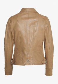 Oakwood - CAMERA - Kožená bunda - brown - 1