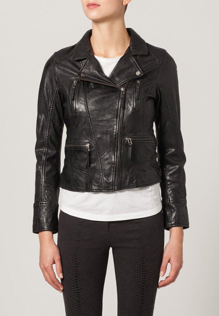 Oakwood - Leather jacket - schwarz