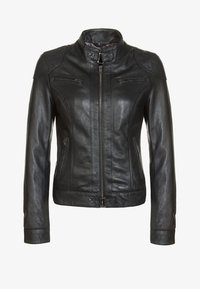 Oakwood - Leather jacket - black - 7