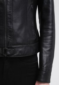 Oakwood - Leather jacket - black - 6
