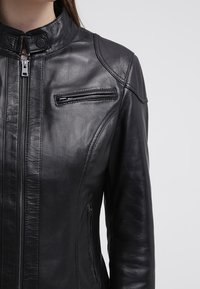 Oakwood - Leather jacket - black - 4