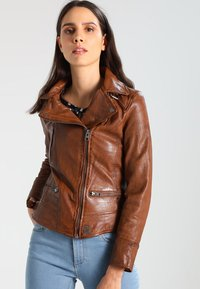 Oakwood - VIDEO - Leather jacket - tan - 0