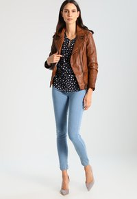 Oakwood - VIDEO - Leather jacket - tan - 1