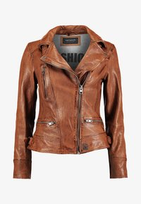 Oakwood - VIDEO - Leather jacket - tan - 5