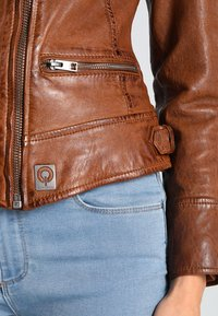 Oakwood - VIDEO - Leather jacket - tan - 4