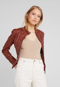 Oakwood - EACH - Leather jacket - wild - 0