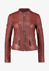 Oakwood - EACH - Leather jacket - wild - 4