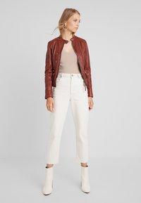 Oakwood - EACH - Leather jacket - wild - 1