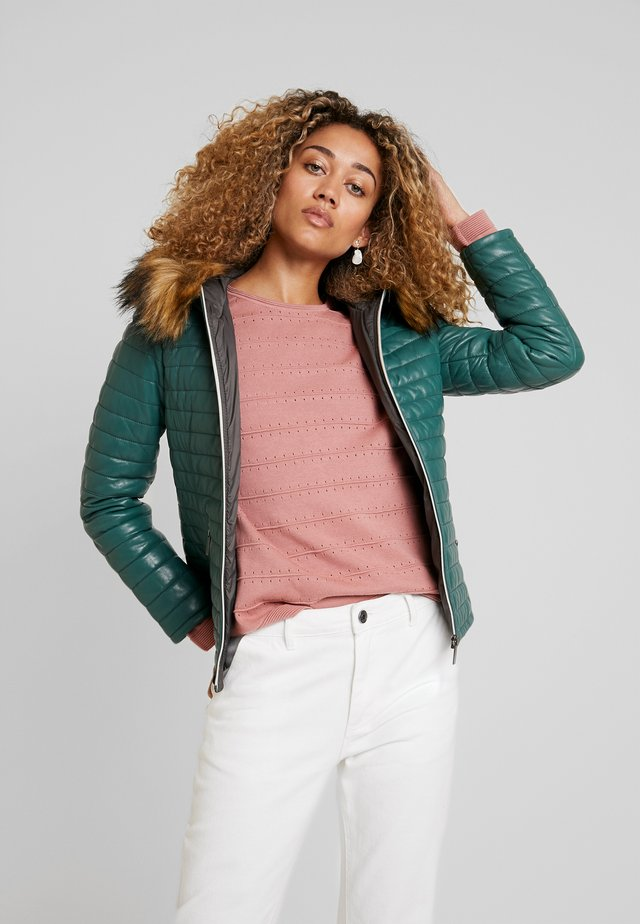 FURY - Zimní bunda - green