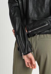 Oakwood - Veste en cuir - black - 5