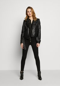 Oakwood - Leather jacket - black - 1