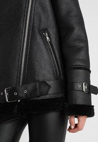 Oakwood - COMMUNITY  - Faux leather jacket - black - 5