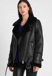 Oakwood - COMMUNITY  - Faux leather jacket - black - 0