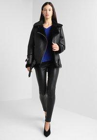 Oakwood - COMMUNITY  - Faux leather jacket - black - 1