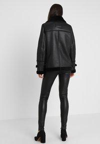 Oakwood - COMMUNITY  - Faux leather jacket - black - 2